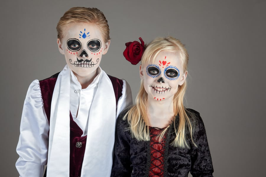 Dia-de-los-Muertos-Make-up-Kinder