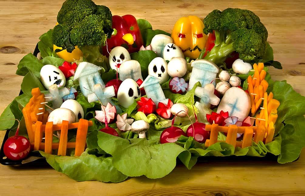 Halloween Rezepte Gemuse Friedhof Halloween De
