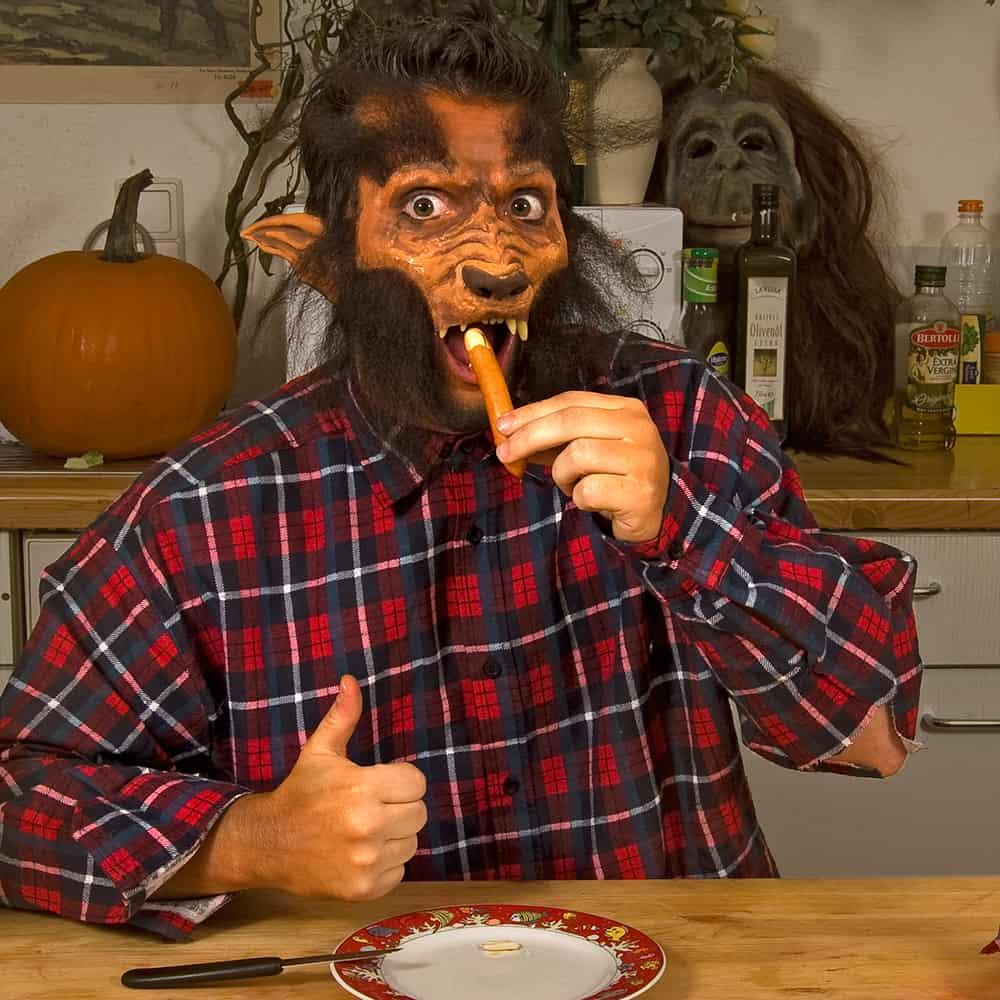 Lecker Halloween Rezept Würstchenfinger