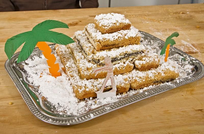 Halloween Rezepte Pyramidenkuchen 2