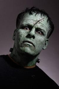 Schminkanleitung Frankensteins Monster