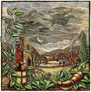 Illustration zum Ursprung und der Geschichte von Halloween