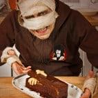 Halloween Rezepte Sarkophag Kuchen: Guten Appetit