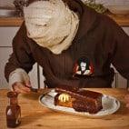 Halloween Rezepte Sarkophag Kuchen: Sarg lasieren