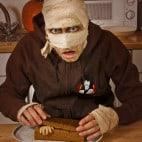 Halloween Rezepte Sarkophag Kuchen: Deckel auflegen