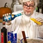 Halloween Rezepte Reagenz-Cocktails: Variante mit Fruchtsäften