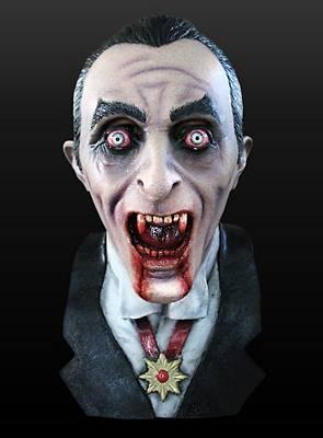 Vampirfürst Maske aus Latex