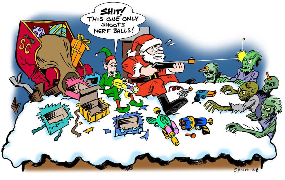 Auch zombies feiern weihnachten neujahr das horror grusel magazin f r - Cliparts weihnachten und neujahr kostenlos ...