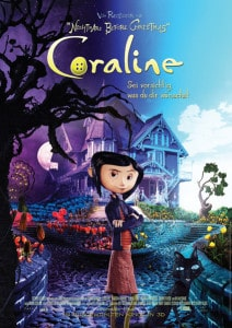 Coraline - Das offizielle Plakat zum Film von Henry Selick