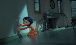 Szene aus dem Film Coraline - Die Entdeckung des geheimen Tunnels