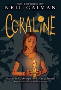 Coraline - Neil Gaimans Buch in der deutschen Comicfassung