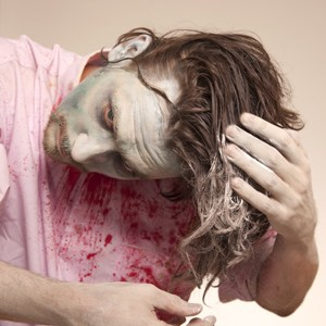 Die Pigmentflecke auf der Person in woronesche