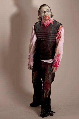 Einfache Zombie Schminkanleitung Halloween De