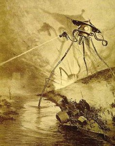 War of the Worlds - Illustration by Alvim Corréa, 1906