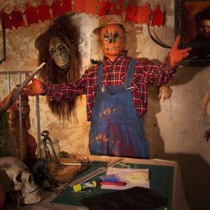Halloween Deko Girlanden aus Papier