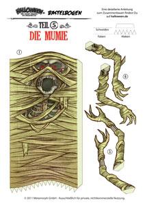 Bastelbogen-Mumie-Vorschau-1