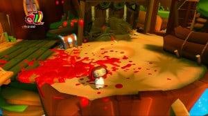So sieht es aus, wenn Rotkäppchen eine Party schmeißt... Keiner mehr da.