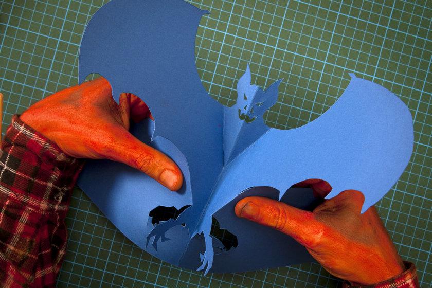 Летучая мышь поделки своими руками 957