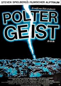 Poltergeist Deutsches Filmposter