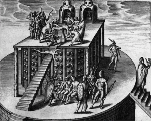 menschenopfer Azteken