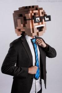 Pixel-Kopf