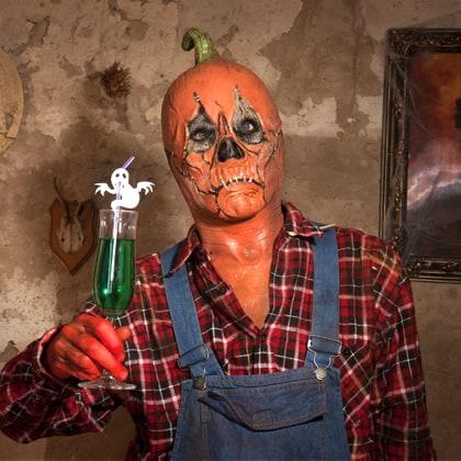 Halloween Dekoration: Lustige Trinkhalm-Monster - Halloween.de