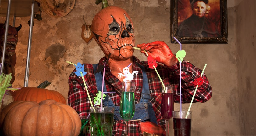 Der Drink schmeckt gleich viel besser ist der Strohhalm monstermässig gestaltet