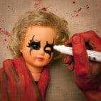 Halloween Puppenkopf Girlande Basteln (8)