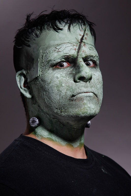 Frankensteins Monster Make-up