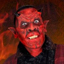Teufel Schminkanleitung Für Halloween Halloweende