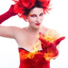 Halloween-Schminkanleitung-Feuerteufel