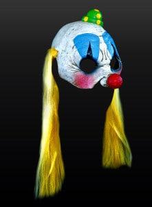 Cheerleader-Clowness Maske