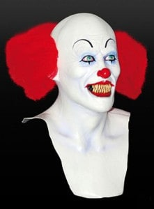 Pennywise Clown Maske aus Latex