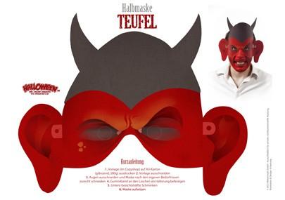halloween basteltipp halbmasken zum ausdrucken. Black Bedroom Furniture Sets. Home Design Ideas