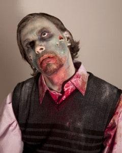 Zombies sind verwesendes Fleisch.