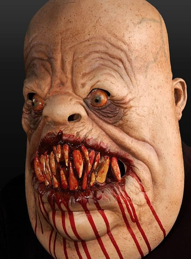 Mampfer Maske aus Latex