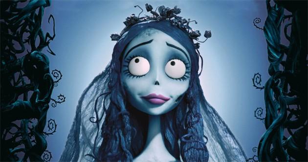 """Die Leichenbraut aus dem Tim Burton Film """"Corpse Bride"""""""