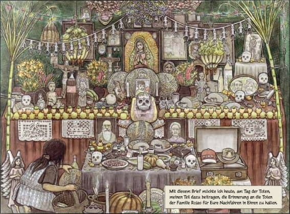 """Bild aus Graphic Novel """"Der Staub der Ahnen"""" von Felix Pestemer"""
