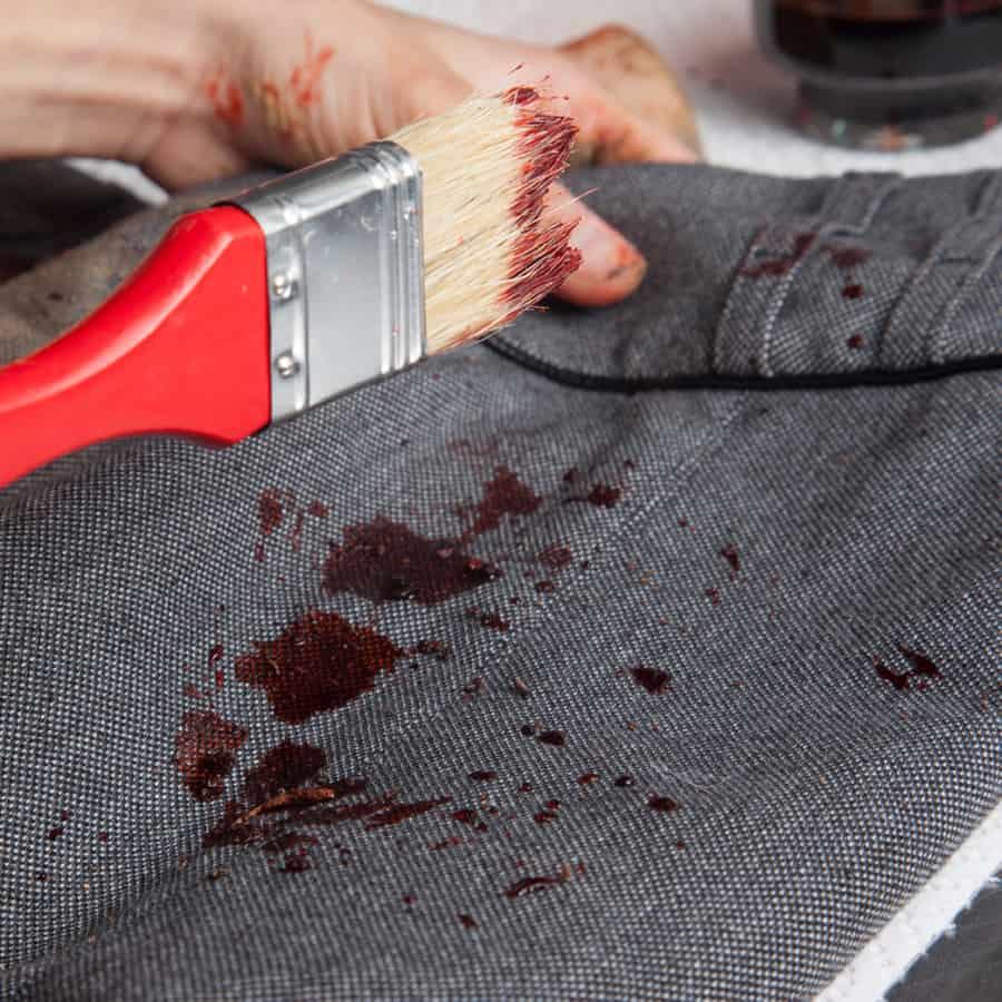 Halloween Schminktipp Zombie Make-up Anleitung 8