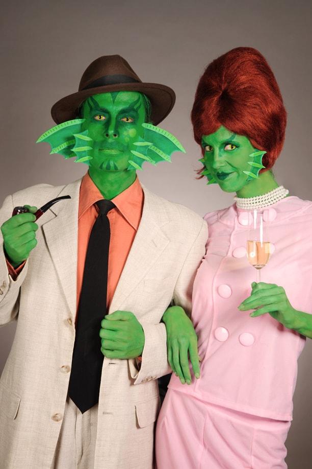 Anleitung für ein originelles Halloween-Make up