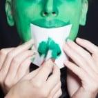 Halloween Make-up Kiemenmenschen Schminkanleitung 40
