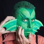 Halloween Make-up Kiemenmenschen Schminkanleitung 48