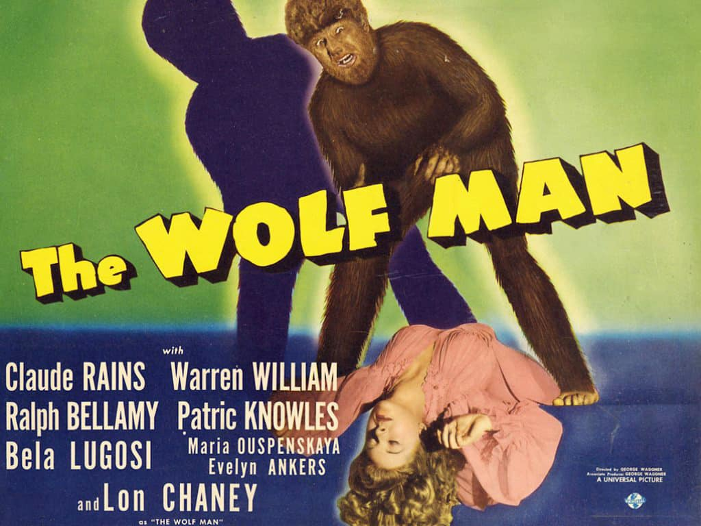The Wolf Man - Filmplakat