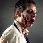Effektvolles Zombie Make up mit Special Effect zum selber schminken