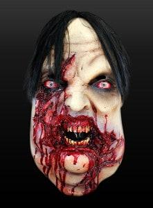 Platz 4 Psycho Nerd Maske