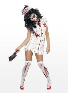 Platz 6 Zombie Sanitäterin