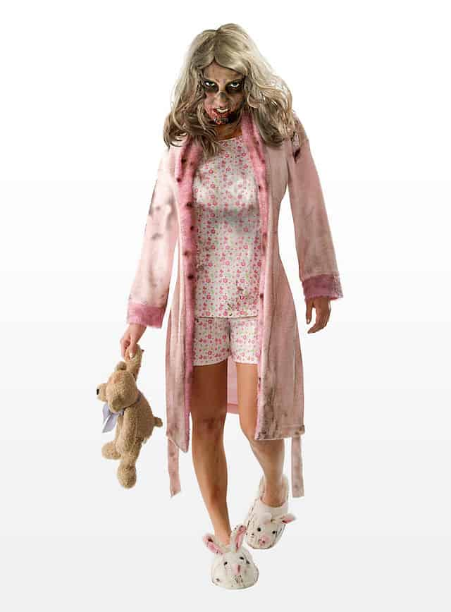 Platz 10 The Walking Dead Zombie Mädchen