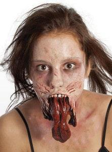 Platz 3 The Walking Dead Zombie Kiefer