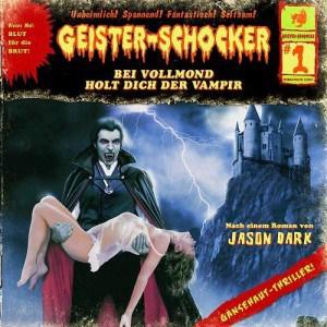 Geister-Schocker Cover - Bei Vollmond holt dich derVampir