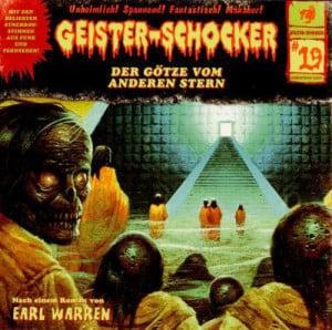 Geister-Schocker Cover - Der Götze vom anderen Stern